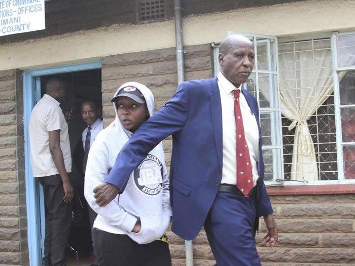 Mwangi Maribe with his daughter Jacque Maribe