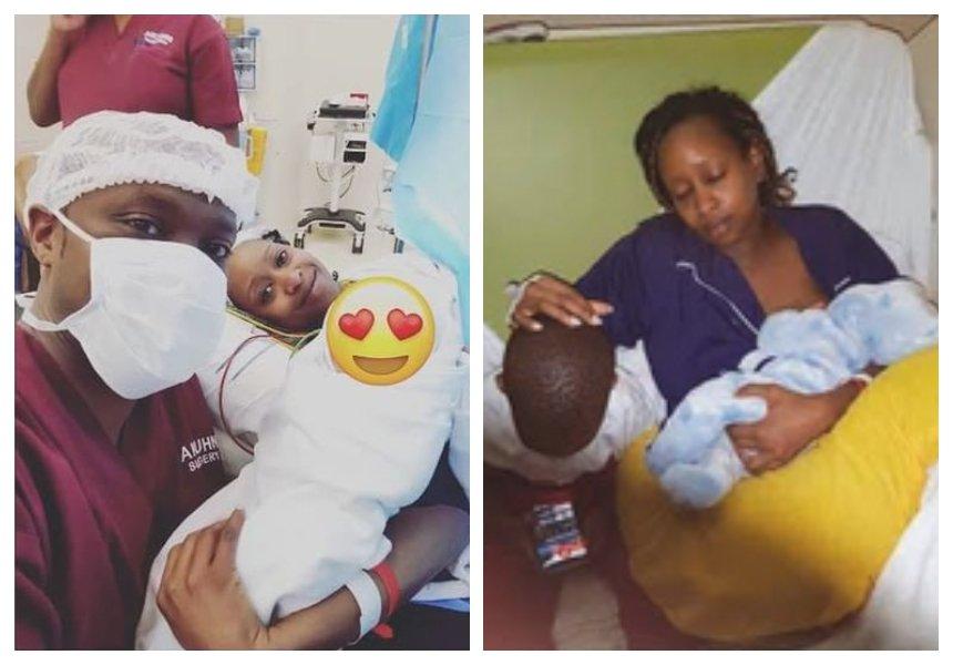 Image result for janet mbugua birth son hospitalized