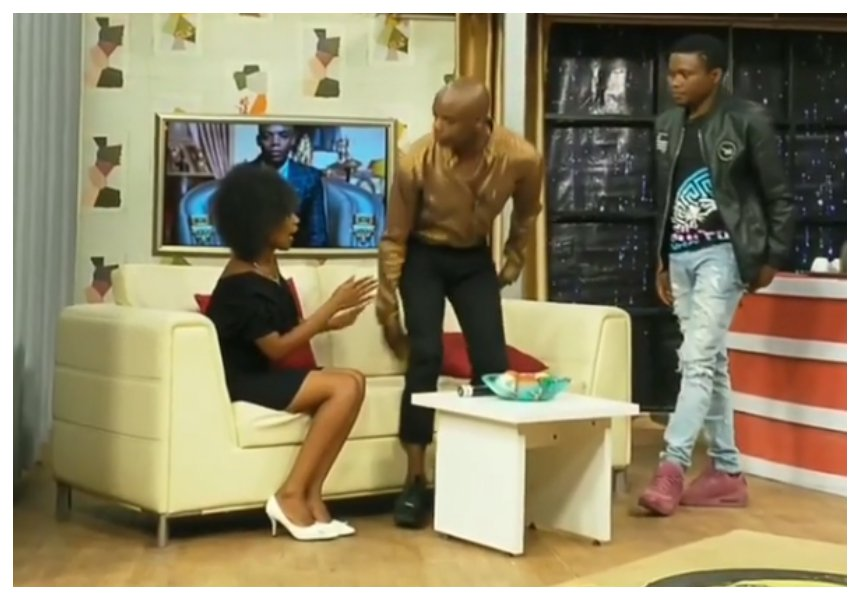 Jimmy Gait set tongues wagging after fleeing from lady who interrupted live recording to declare her love to him