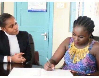"""Kwa niaba ya wana Kisarawe tunasema asantee sana""Jokate Mwegelo pours out her heart to Mercy Masika after she did this"