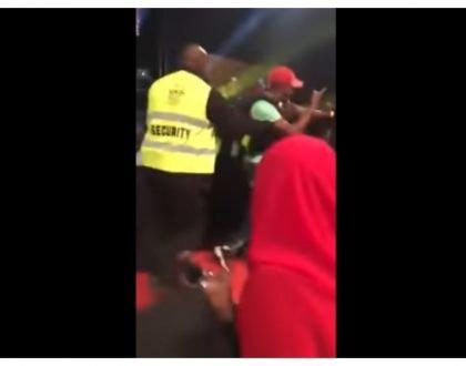 Drunk senator thrown out of Churchill Show recording in Kajiado (Video)