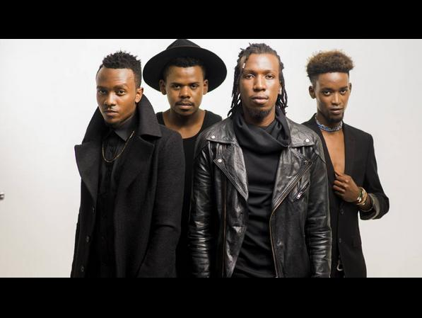 Soja!! Soja!! Music group Le Band beats up their producer