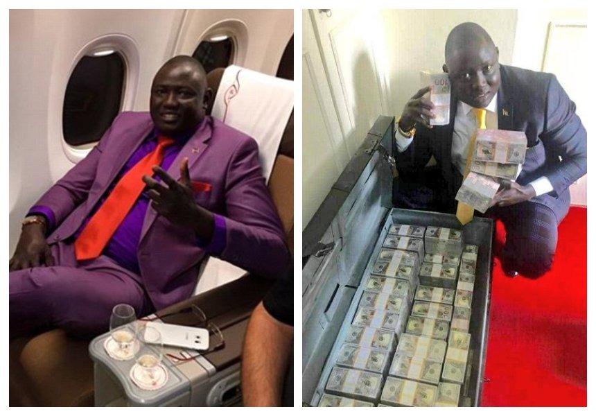 Boniface Mwangi fires at Jeff Koinange for hosting South Sudanese tycoon Lawrence Lual