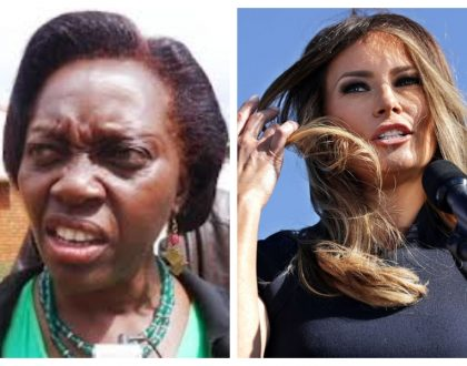 Zero chills! Martha Karua shreds US First Lady Melania Trump