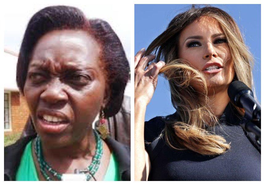 Zero chills!Martha Karua shredsUS First Lady Melania Trump