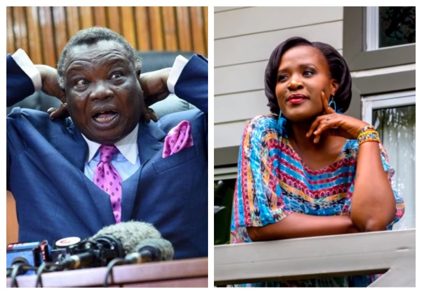 """Kilobi does not know how Atwoli got the money"" Atwoli's estranged wife calls out KTN anchor for reaping what she has not worked for"