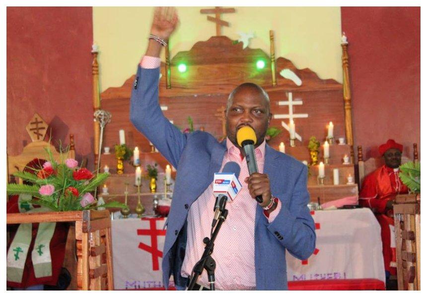 """""""Mimi nikiongea kitu kidogo huwa nashikwa"""" Moses Kuria questions why NCIC hasn't yet arrestedNarok Senator Ledama Ole Kina"""