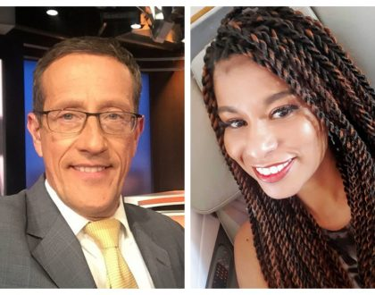 Achanga kiherehere! KOT tears into Julie Gichuru after CNN anchor Richard Quest blasts her forputting words in his mouth
