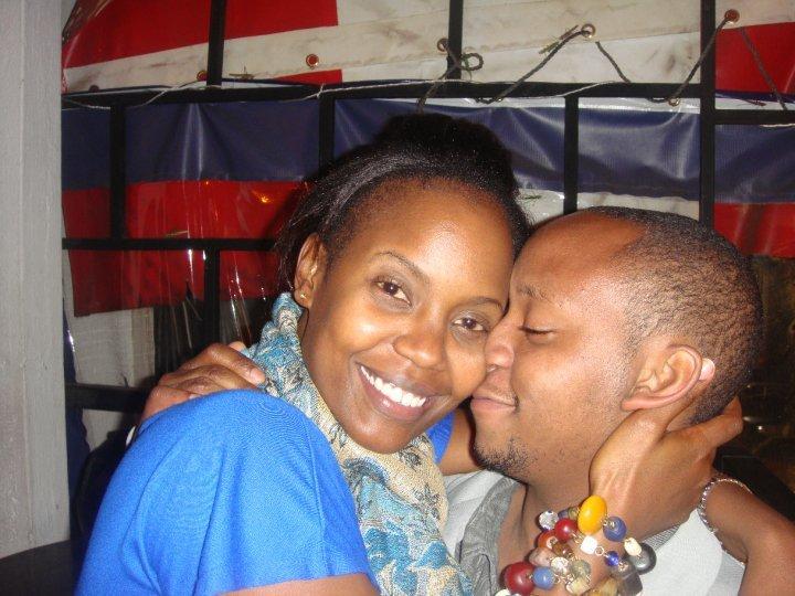 Sanaipei Tande and his ex Andrew Manga