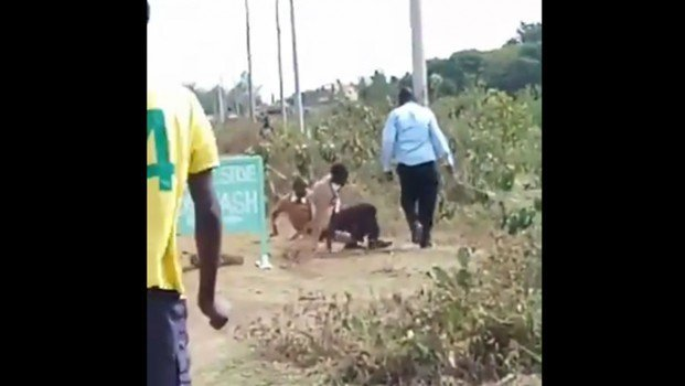 Kenyans praise school teacher caught on camera giving students a thorough beating