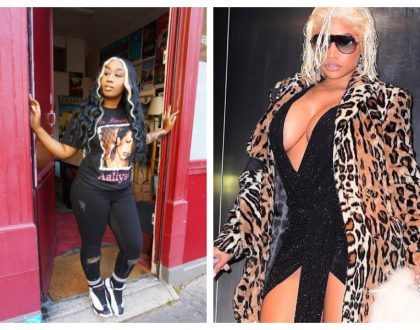 Victoria Kimani granted special honour in Paris as French couple mistake her for Nicki Minaj (Photos)