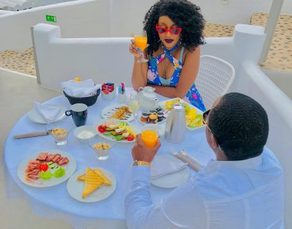 """You are fake as your filters!"" Amber Ray trolled for her makeup as she enjoys her vacation with another woman's husband"
