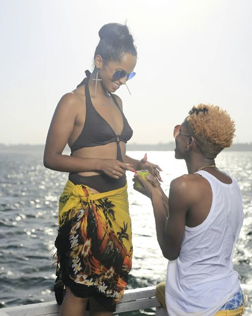 Eric Omondi proposes to Chantal Grazioli