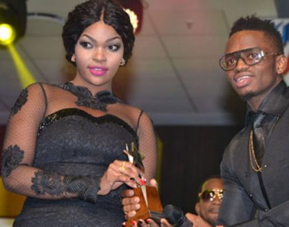 Diamond taunts Wema Sepetu after she introduces the man she wants to marry (Photos)