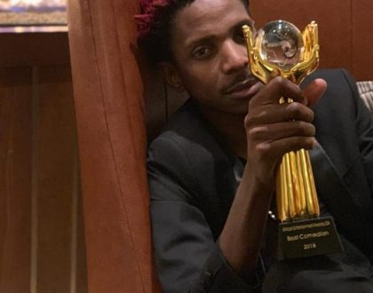 Celebrity reactions to Eric Omondi being crowned Africa's best comedian