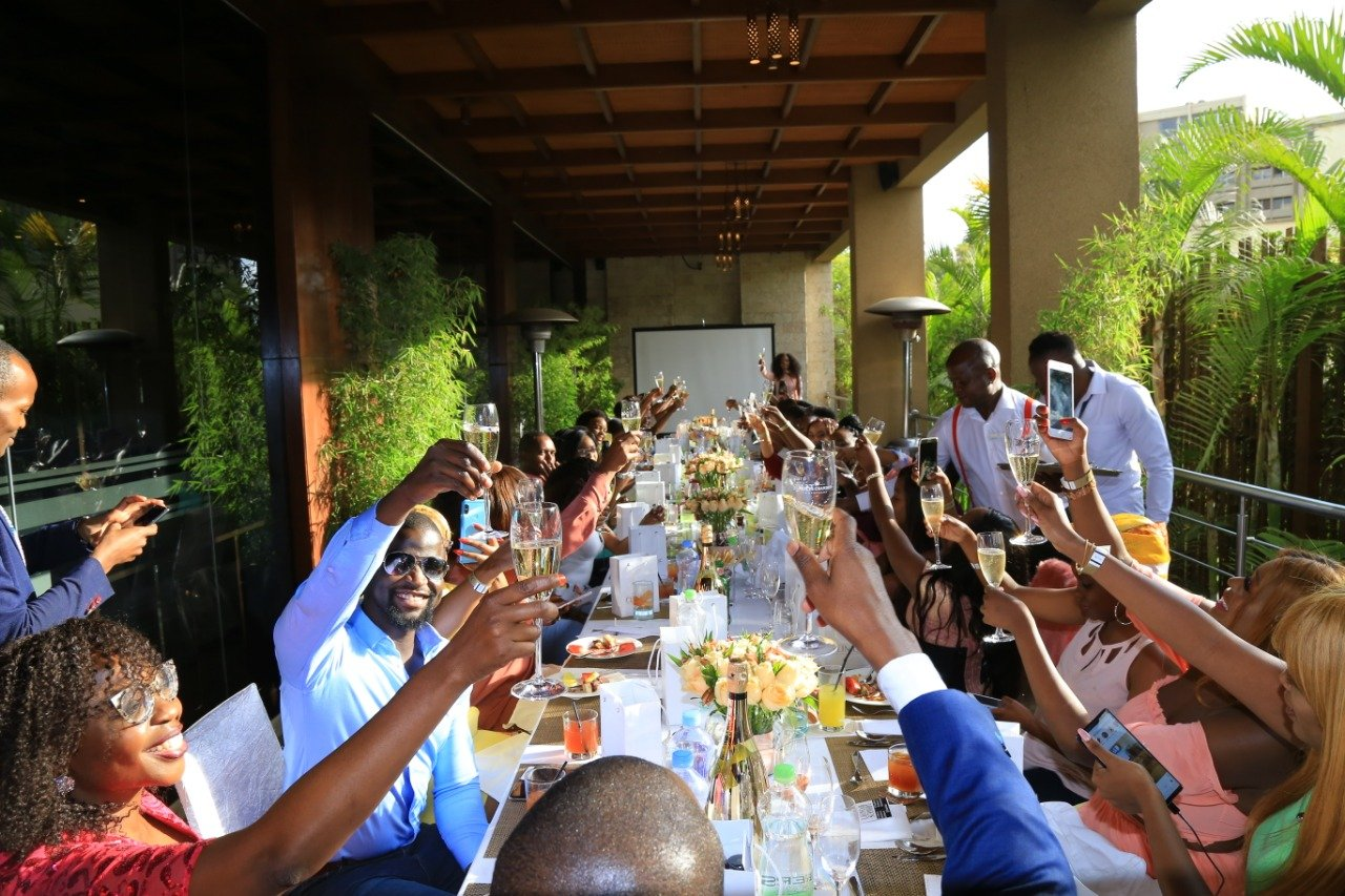 This is how the launch of the LM Network in Kenya went down