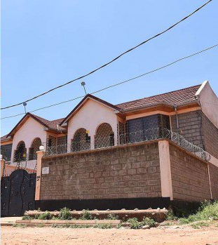 Jacque Maribe's house in Lang'ata.