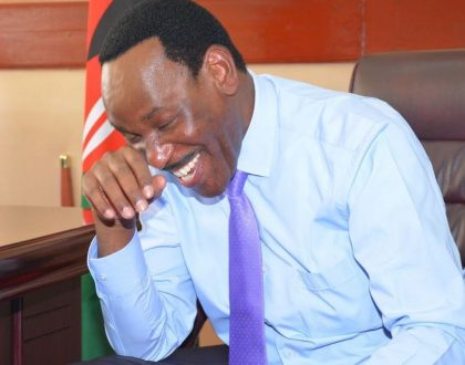 Sorry, but you will have to put up with Ezekiel Mutua for another three years