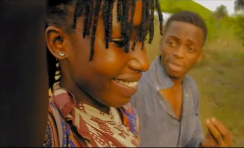 Diamond and Hawa in their 2011 hit song 'Nitarejea'