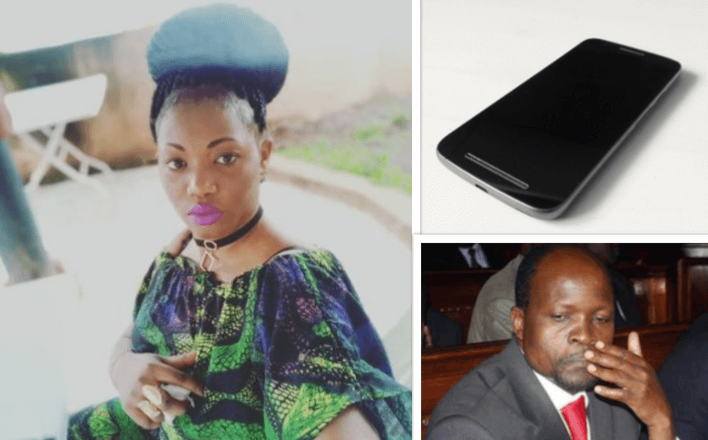 Sharon Otieno wanted a sex tape with the Governor - Wife