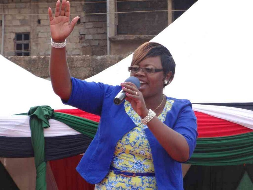 Kiambu Woman Representative Gathoni Wa Muchoba