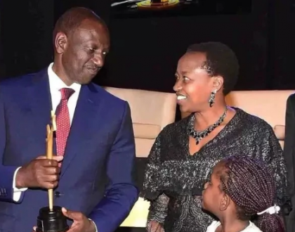 William Ruto's wifebegs young ladies to stop dating sponsors: These old men who lure you with money will only take you for granted