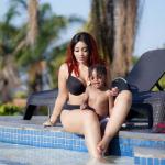 zari 2 150x150 - Zari steps out bra-less confirming her 'girls' are still firm even after 5 kids!
