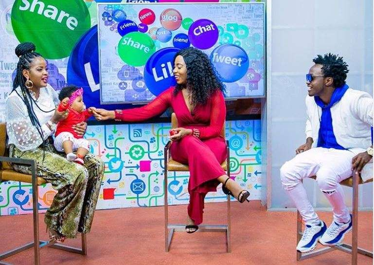 We are not perfect! Diana Marua and Bahati reveal after failing love test live on TV