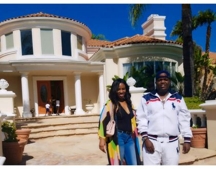 Filthy rich rapper AY finally admits he owns the mega mansion inCalabasas, California, USA. Talks about relocating (Photos)
