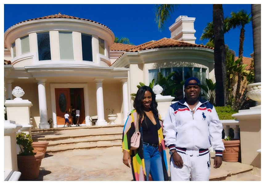 Filthy rich rapper AY finally admits he owns the mega mansion in Calabasas, California, USA. Talks about relocating (Photos)