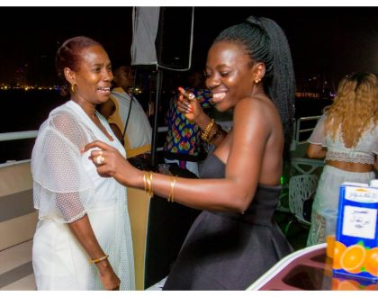 Akothee sends a strong message her daughters to after partying with Diamond's mother in Dubai (Photos)