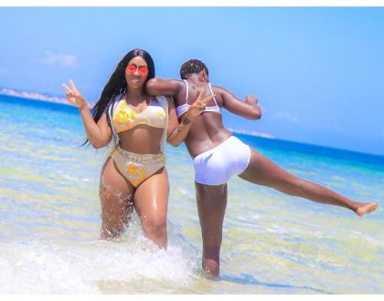 """Nigerians and Luhyas have the biggest mjulubeng"" Akothee and Victoria Kimani discuss men with biggest manhood"