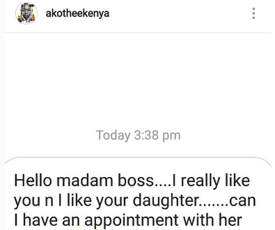 Akothee forced to expose thirsty wicked man trying to feast on her and her daughter