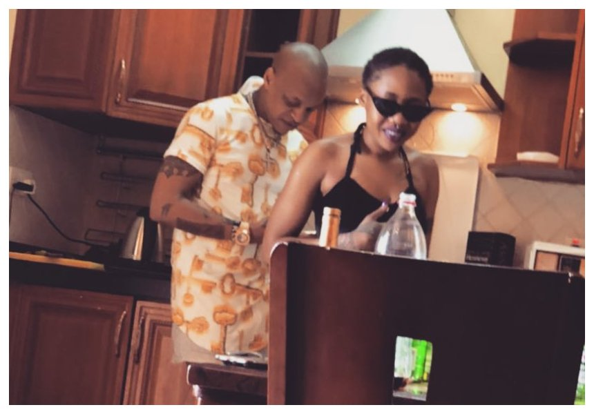 No more sex tapes! Tanzanian socialite Amber Lulu turns over a new leaf after reuniting with Prezzo
