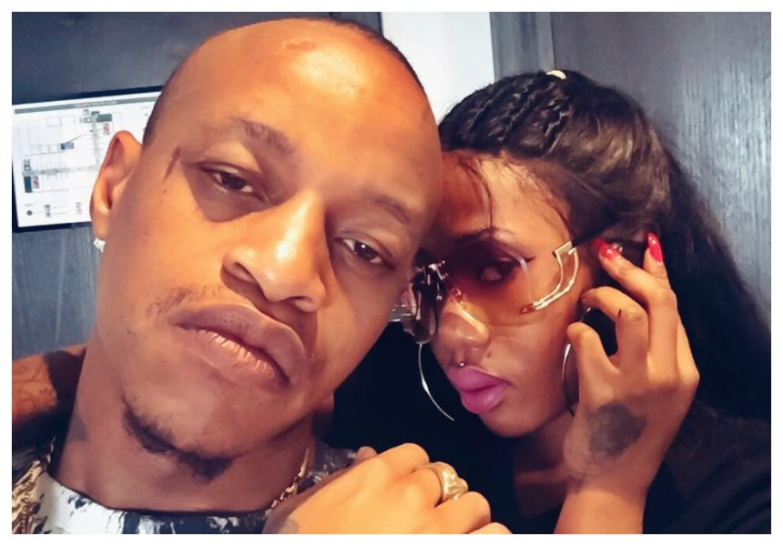 Prezzo's curvy 'on and off' girlfriend throws lavish baby shower weeks before welcoming her first child (Videos)