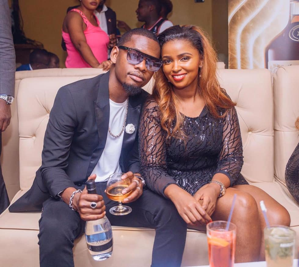 Anerlisa Muigai tells fan that Ben Pol sleeps in her home whenever he comes over to visit