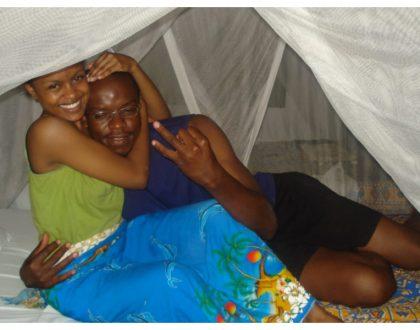 Photos of Avril and 'Naskia Utam' hit makerVBO Micharazo in bed together in Malindi (Photos)