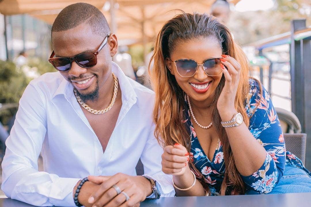 Ben Pol and Anerlisa Muigai increasingly get cozy with each other