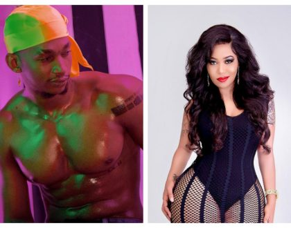 Tired of sponsors? Vera Sidika goes out on a date with Wema Sepetu's ex lover who is way younger than her (Photos)