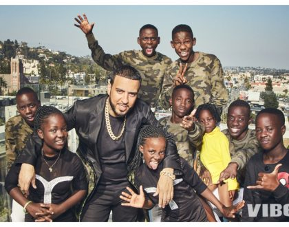 Photos of huge mansion US rapper French Montana bought Uganda's top dance group Triplets Ghetto Kids