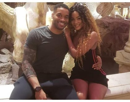 Love in the air! Stunning photos ofHamisa Mobetto and her new American boyfriend