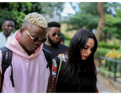 Harmonize explains why he has not been seen with his Italian girlfriend for the past few months