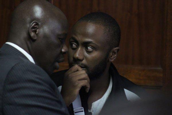 Joseph Irungu in court on November 26th 2018