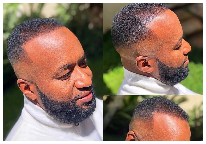 Meet Congolese barber who gave Joho his swaggerific haircut while he was in Nairobi (Photos)