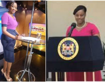 Pesa ni tamu! Kanza Dena adds a few Kgs after getting plum government job (Photos)