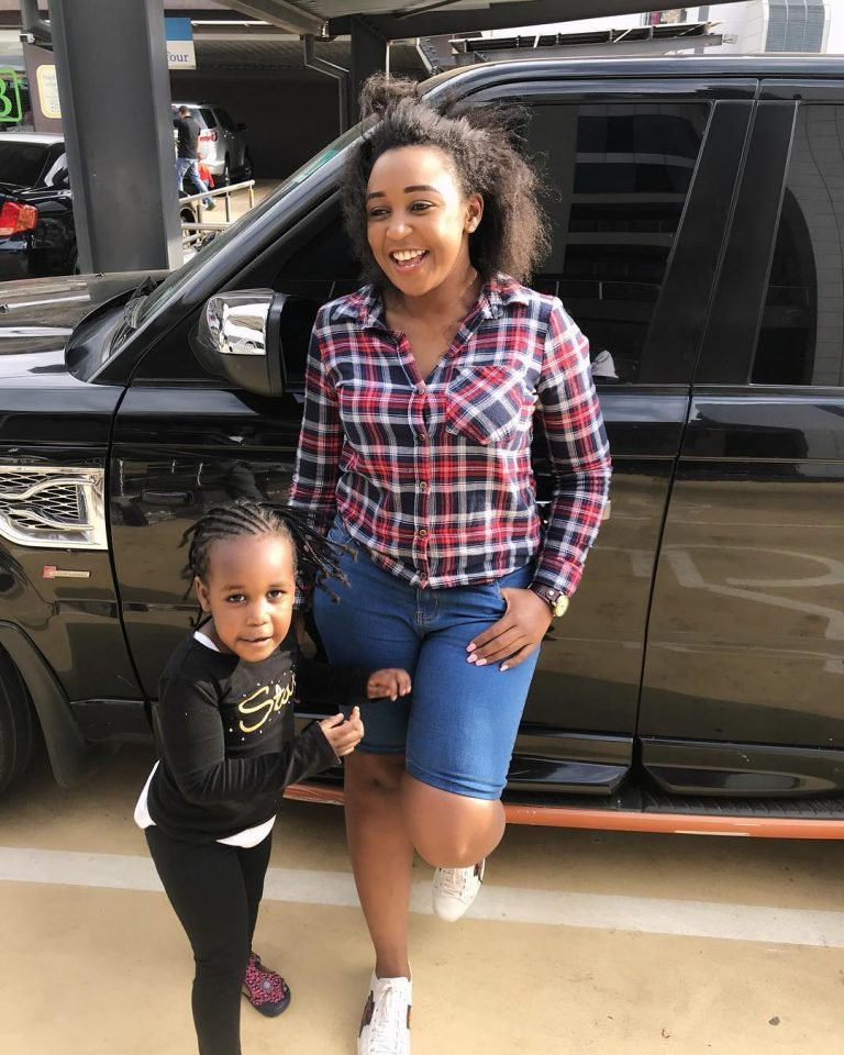 Betty Kyallo with her daughter Ivanna