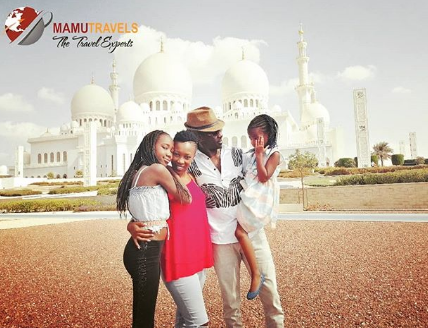 Nameless ends Dubai family trip, returns to work looking energetic and jovial