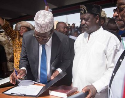 Miguna Miguna insults Kenyans who poked fun at him after Raila Odinga blocked him