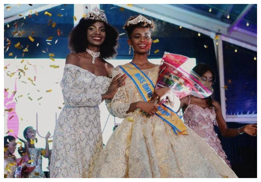 Wabaiya Karuiki floors Kanze Dena's sister to win the 2018 MissUniverse Kenya pageant (Photos)