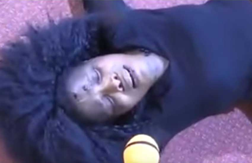 Pastor James Ng'ang'a casts out stubborn demon from singer Rose Muhando (Video)